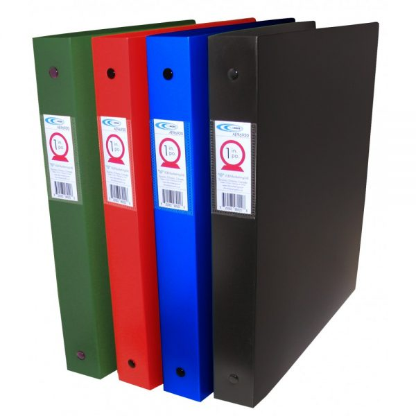 Durable Extra Thick Poly Binders