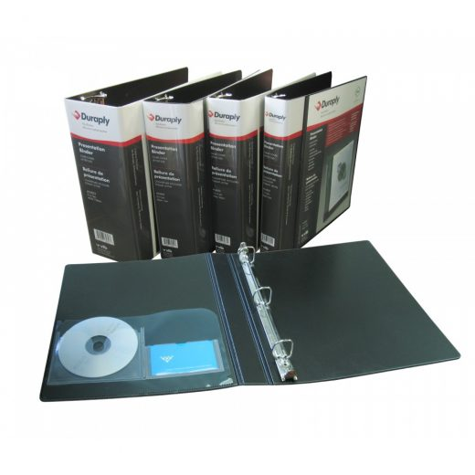 Durable Duraply Poly Presentation Binders