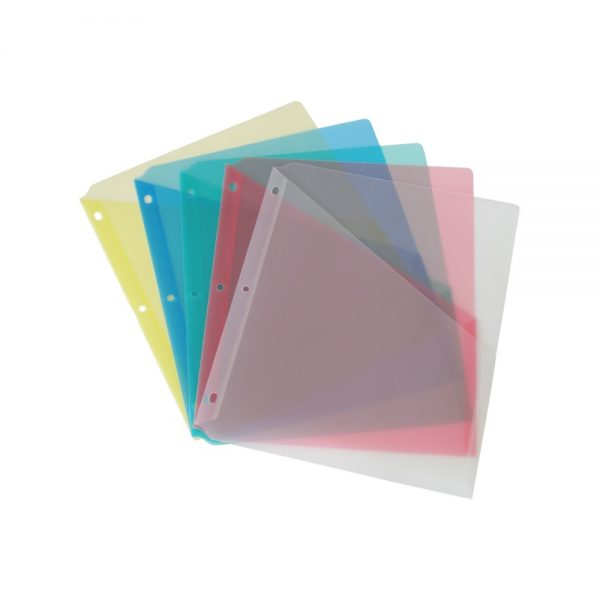Durable Slash Ring Binder Pockets - 30202
