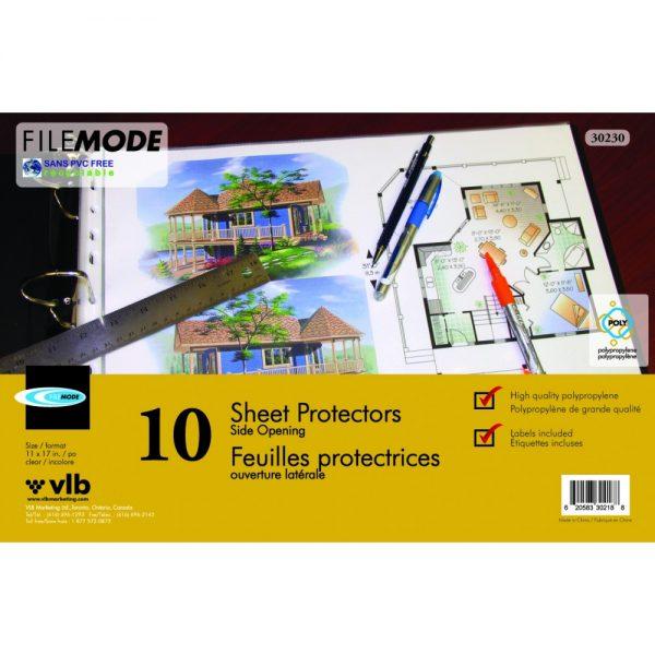 Durable 11″ X 17″ Sheet Protectors