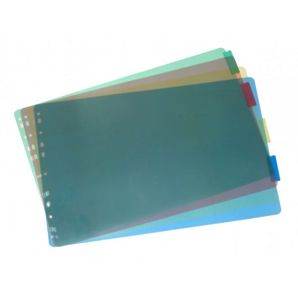Durable Poly Index Dividers – 30218