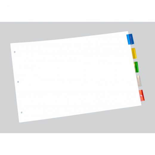 "Durable Paper Index Dividers 11"" X 17"""