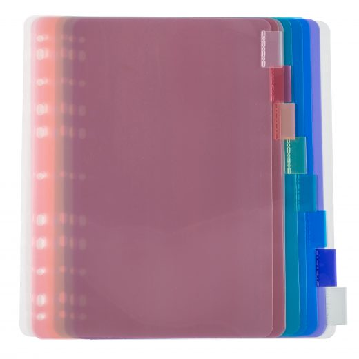Durable Poly Index Dividers