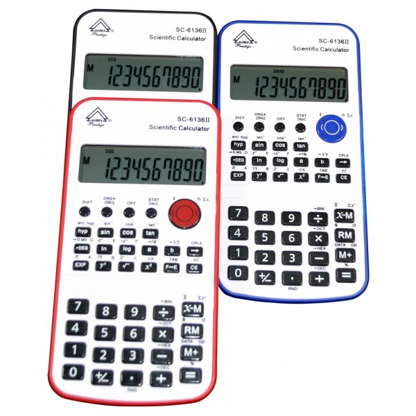 Battery Powered Handheld Calculator - Mixed color - SC-6136II