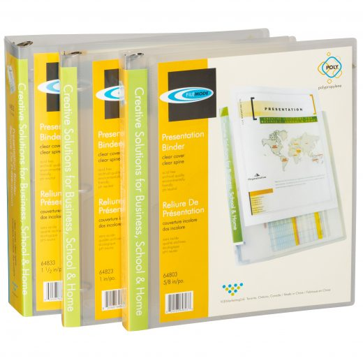 Durable Presentation Binders