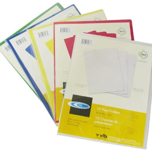 Durable Letter Size View Folders