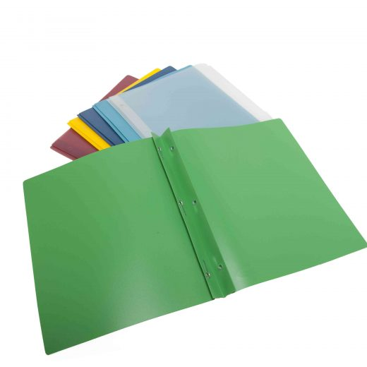 Durable Frosted Presentation Folder