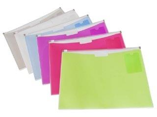 Durable Fashion Zip Envelopes