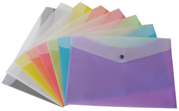 Durable Letter Size Poly Envelopes