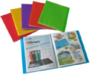 Durable Frosted Presentation Book