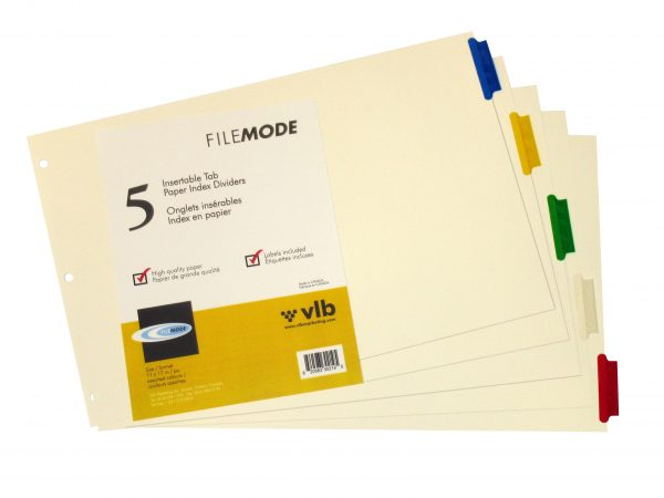 Durable Paper Index Dividers – 30219