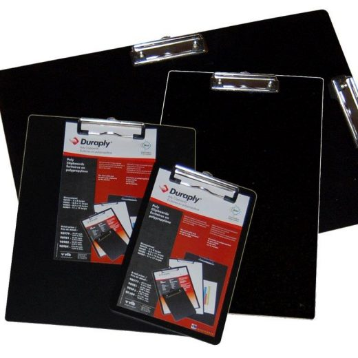 "Durable ""Stay Clean"" Duraply Clipboards"