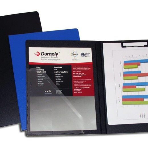 Durable Duraply Folding Clipboard