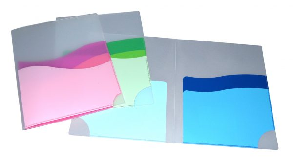 Durable Wave 3 Pocket Folder - AE31380