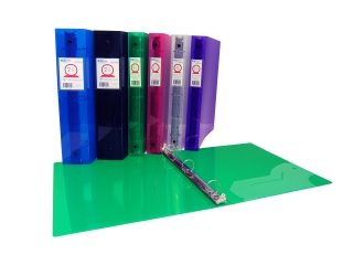 Durable Translucent Colours Thick Poly Binders