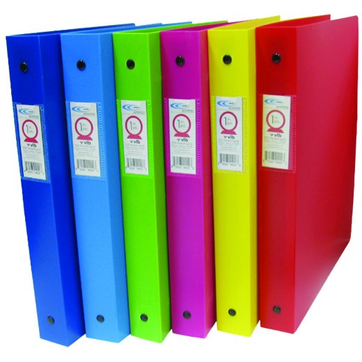 Durable Inside Pockets Thick Poly Binders