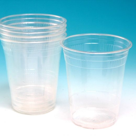 Compostable Clear Plastic Cold Drink Cups